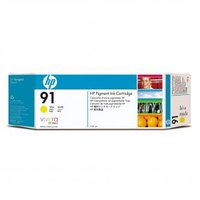 HP originální ink C9469A, HP 91, yellow, 775ml, HP Designjet Z6100