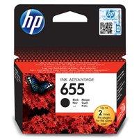 HP originální ink CZ109AE, HP 655, black, 550str., HP Deskjet Ink Advantage 3525, 5525, 6525, 4615 e