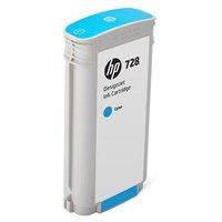 HP originální ink F9J67A, HP 728, cyan, 130ml, HP DesignJet T730, DesignJet T830, DesignJet T830 MFP