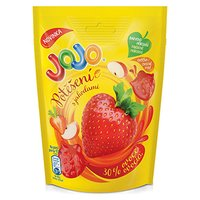 Bonbóny JOJO, 90g, potěšení jahoda, gumové, Nestlé