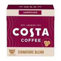 Kávové kapsle Dolce Gusto lungo, Signature Blend Americano, 16 kapslí, krabička