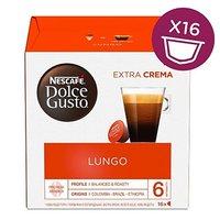 Kávové kapsle Nescafé Dolce Gusto lungo, 3x16 kapslí, velkoobchodní balení karton