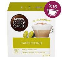 Kávové kapsle Nescafé Dolce Gusto cappuccino, 3x16 kapslí, velkoobchodní balení karton