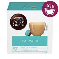 Kávové kapsle Nescafé Dolce Gusto flat white, 3x16 kapslí, velkoobchodní balení karton
