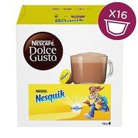 Kávové kapsle Nescafé Dolce Gusto Nesquik, 3x16 kapslí, velkoobchodní balení karton