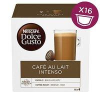 Kávové kapsle Nescafé Dolce Gusto café au lait, intenso, 3x16 kapslí, velkoobchodní balení karton