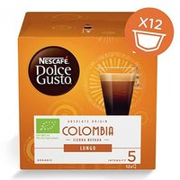 Kávové kapsle Nescafé Dolce Gusto lungo, Colombia, 3x12 kapslí, velkoobchodní balení karton