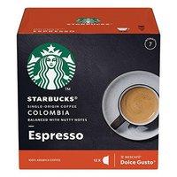 Kávové kapsle Starbucks espresso, colombia, 3x12 kapslí, velkoobchodní balení karton