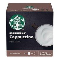 Kávové kapsle Starbucks cappuccino, 3x12 kapslí, velkoobchodní balení karton