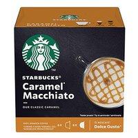 Kávové kapsle Starbucks caramel macchiatto, 3x12 kapslí, velkoobchodní balení karton