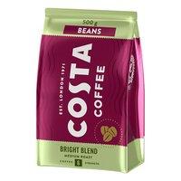 Káva zrnková, Bright Blend 100% Arabica, 500g, sáček