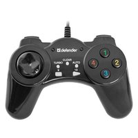 Gamepad Defender Vortex, 13tl., USB, černý, vibrační, Windows 2000/XP/Vista/7/8/10