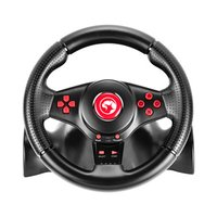 Volant Marvo GT-903, volant s pedály a řadící pákou, 16tl., USB, černý