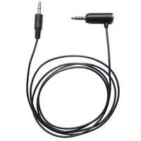 Audio Hands free kabel, Jack (3,5mm) M (4-polový)-Jack (3,5mm) M, 1.2, stereo, černý, pro iPhone,iPa