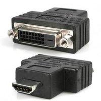 Video Redukce, HDMI M-DVI (24+1) F, 0, černá, Logo