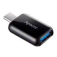 Redukce, USB (3.1), USB C (3.1) M-USB A (3.1) F, 0, černá, Apacer, USB 3.1 ver.1, 5Gbps