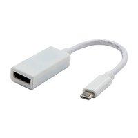 USB (3.1) Adaptér, USB C (3.1) M-DisplayPort F, 0, bílý, 4K2K@30Hz