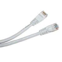UTP patchcord, Cat.5e, RJ45 M-0.25m, nestíněný, bílý, economy