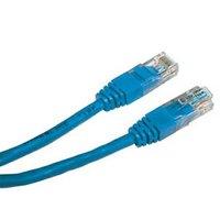 UTP patchcord, Cat.6, RJ45 M-2m, nestíněný, modrý, economy