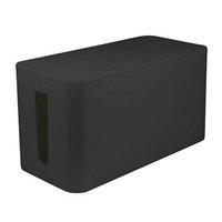 Organizér kabelů, box, černý, 235x115x121mm