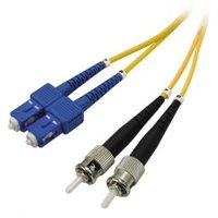 Optický PatchCord Single mode (9/125), ST/SC, 2m, economy