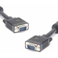Kabel VGA (D-sub) M- VGA (D-sub) M, 2m, stíněný, šedá