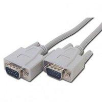 Kabel VGA (D-sub) M- VGA (D-sub) M, 2m, šedá