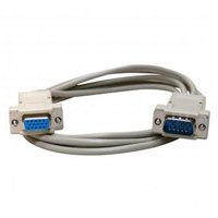 Kabel VGA (D-sub) M- VGA (D-sub) F, 2m, šedá, Logo, blistr
