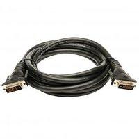 Kabel DVI (24+1) M- DVI (24+1) M, DVI-D (dual link), 3m, černá