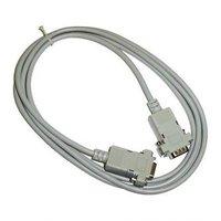 Datový kabel sériový RS-232, 9 pin M- 9 pin F, 2m, prodlužovací, šedý, Logo, blistr