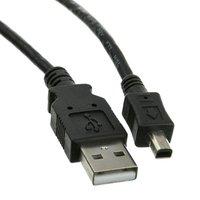 Kabel USB (2.0), USB A M- 4 pin M, 1.8m, černý