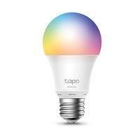 LED žárovka TP-LINK E27, 220-240V, 8.7W, 806lm, 6000k, RGB, 15000h, chytrá Wi-Fi žárovka