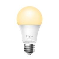 LED žárovka TP-LINK A27, 220-240V, 8.7W, 806lm, 2700k, teplá, 15000h, stmívatelná chytrá Wi-Fi žárov