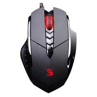 A4tech Myš Bloody V7, 3200DPI, optická, 7tl., 1 kolečko, drátová USB, černá, herní, V-Track, LAGLESS