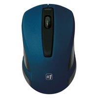 Defender Myš MM-605, 1200DPI, 2.4 [GHz], optická, 3tl., 1 kolečko, bezdrátová, modrá, 2 ks AAA, nano