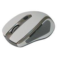 Defender Myš Safari MM-675, 1600DPI, 2.4 [GHz], optická, 6tl., 1 kolečko, bezdrátová, šedá, 1 ks AA