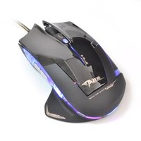 E-Blue Myš Mazer R, 2400DPI, optická, 6tl., 1 kolečko, drátová USB, černá, herní