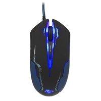 E-Blue Myš Auroza, 3500DPI, optická, 6tl., 1 kolečko, drátová USB, černá, herní