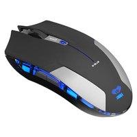 E-Blue Myš Cobra Jr., 1750DPI, 2.4 [GHz], optická, 6tl., 1 kolečko, bezdrátová, černá, 2 ks AAA
