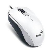 Genius Myš DX-110, 1000DPI, optická, 3tl., 1 kolečko, drátová USB, bílá