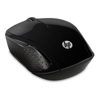 HP myš 200 Wireless, 1000DPI, 2.4 [GHz], optická, 3tl., 1 kolečko, bezdrátová, černá, 2 ks AAA, Wind