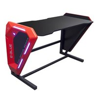 E-Blue Herní stůl EGT002BK, 125x62 cm, 80,8 cm, podsvícený