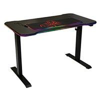 Marvo Herní stůl DE-03 PRO 120 x 66 cm, 71-121 cm, elektricky nastavitelná výška, podsvícený, podsví