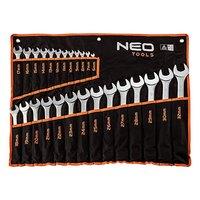 Sada očkových klíčů, 09-754, 6-32mm, z chrom-vanadiové oceli, Neo Tools