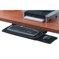 Držák klávesnice a myši Office Suites, pod stůl, černý, plast, Fellowes