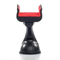 Držák mobilu(GPS) do auta, nastavitelná šířka, černý, plast, Swissten, přísavka na sklo, kloubový, č