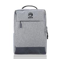 """Batoh na notebook 15.6"""", BA-03, šedý z nylonu, USB port k nabíjení, Marvo"""