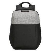 """Batoh na notebook 15,6"""", NB008, černo-šedý z polyesteru/polyethylenu/nylonu, není snadné vy"""