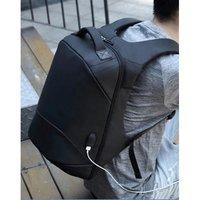 """Batoh na notebook 15,6"""", NB007, černý z polyesteru/polyethylenu/nylonu, není snadné vykrást"""