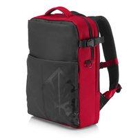 """Batoh na notebook 17,3"""", Omen Gaming Backpack, červený z polyesteru, herní, HP"""